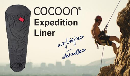 4 cocoon expedition liner najlżejsza wkładka