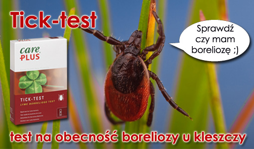 2 tick test na boreliozę kleszcz care plus