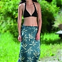 Sarong Insect Shield Jedwab (leaves) ISSA 64