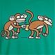 T-shirt MONKEY SEE Kukuxumusu