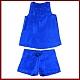 Pidżama podróżna damska (100% Jedwab) - 1001-Blue