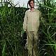Piżama podróżna męska Insect Shield (Egipska Bawełna)