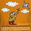 T-shirt DALAI LAMA Kukuxumusu
