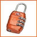 Kłódka podróżna z szyfrowym zamknięciem TSA Lock Code - Rockland