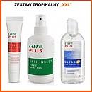Zestaw tropikalny XXL (Care Plus 200ml, żel po ukąszeniach, żel antybakteryjny)