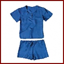 Piżama podróżna damska - 100% Jedwab
