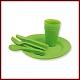 Zestaw naczyń kempingowych Piknik Plus - Rockland